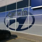 Corwin Store front wrap