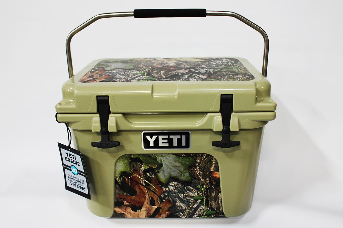Vinyl wrapped YETI Roadie