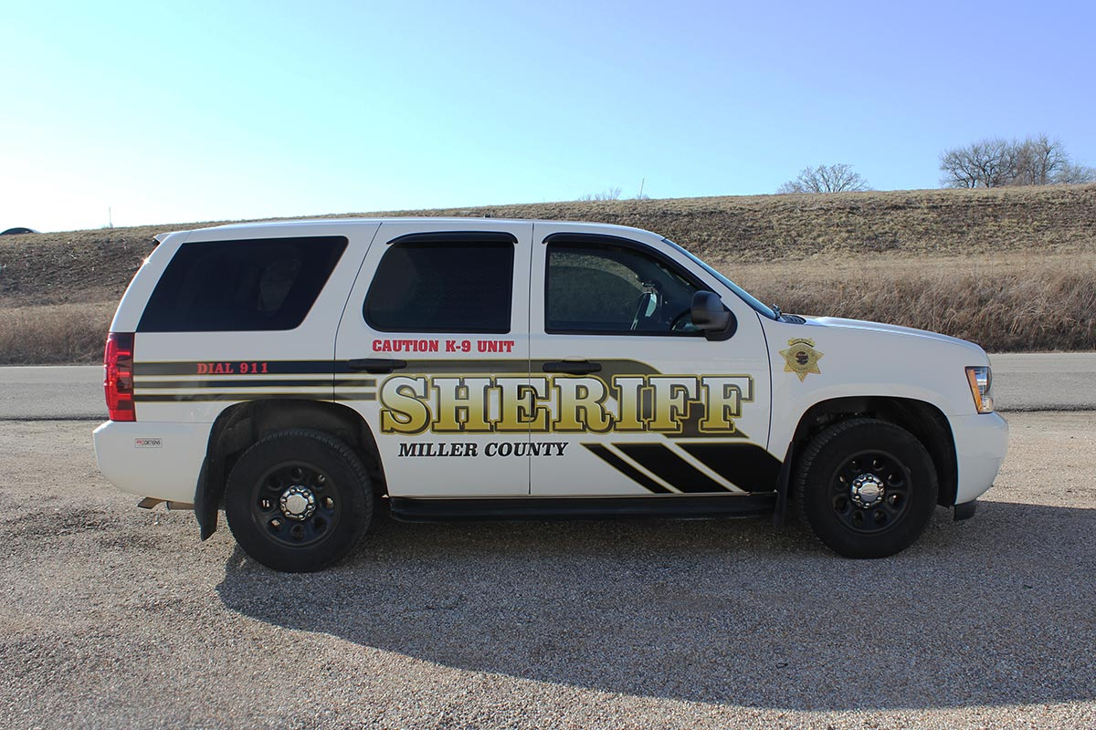 Miller County Sheriff SUV Wrap