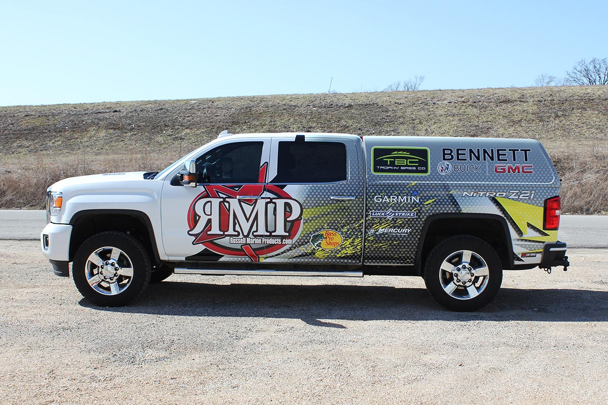 RMP Custom Truck wrap