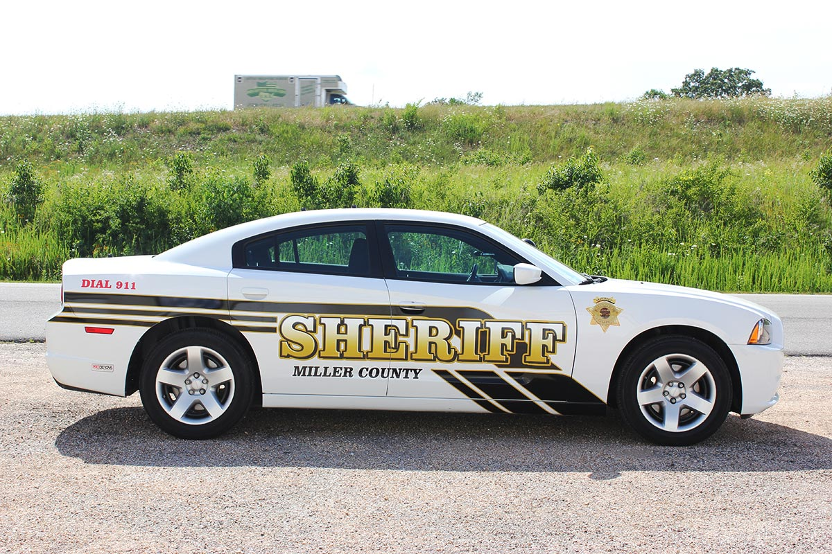 Miller County Sheriff Vehicle Wrap