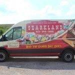 Ozarkland vehicle wrap