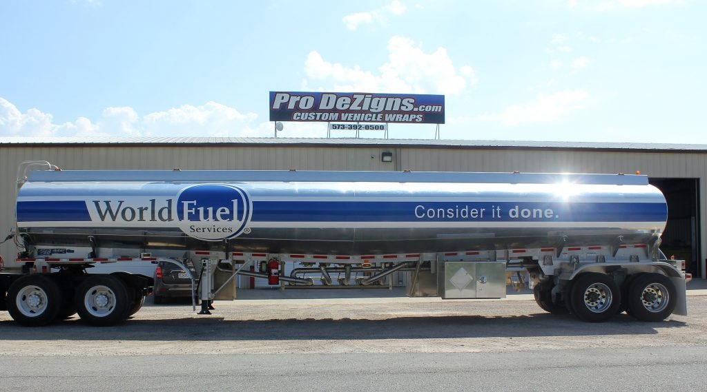 World Fuel Services Tanker Wrap