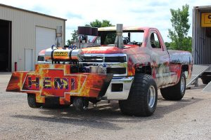 Hemi Pick-up truck wrap