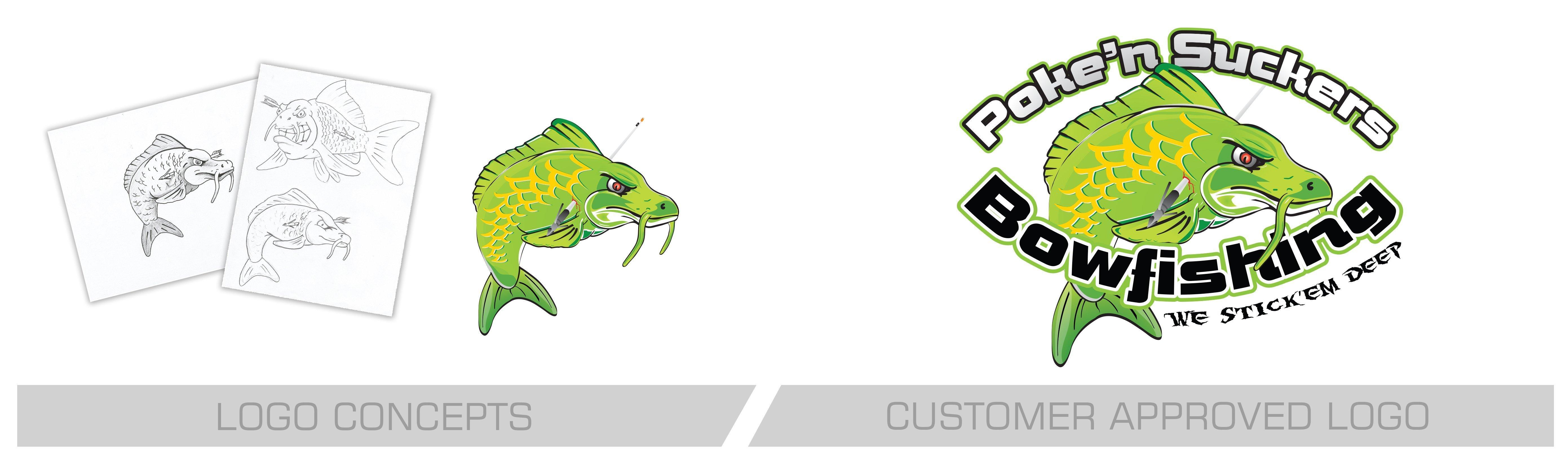 Pokin Suckers logo