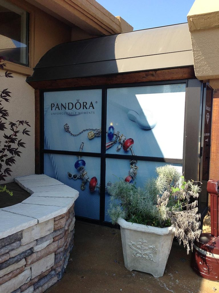 pandora window wrap